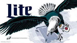 eagles wallpaper miller lite