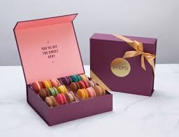 macaron gift box of 18 by glendora florist