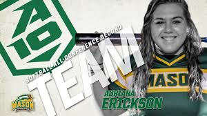 Adriana Erickson, Marina Vitalich and... - George Mason Softball | Facebook