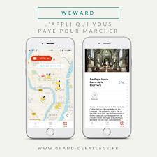 Mon avis sur WEWARD : l'application qui vous paye pour marcher