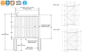Vinyl Fence Kit White 8x8 Dogwood Lake County Fence Company