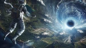 vortex black hole sci fi 4k 5k
