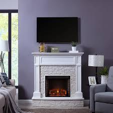 jacksdale electric fireplace mantel