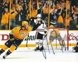 Ryan Johansen Autographed Picture - 8X10