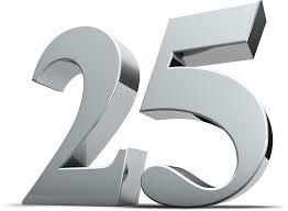 """Resultat d'imatges per a """"25"""""""