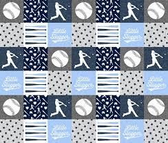 boy crib bedding set baseball nursery