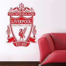 Liverpool Vinyl Wall Decal Sticker Football Wall Decals