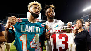 jarvis landry has most catches through