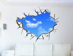3d Sky Effect Wall Decal Gadget Flow