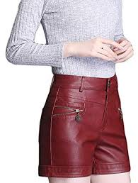 lotus instyle high waist faux leather