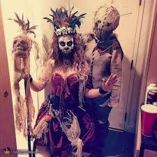 witch doctor and voodoo doll