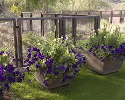 Small Metal Garden Fence Garden Design Ideas