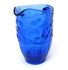 depression glass water pitcher jug