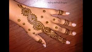 easy simple mehndi design hd