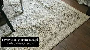 my favorite area rugs from target