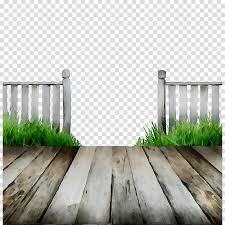 Green Grass Background Clipart Fence Wood Wall Transparent Clip Art