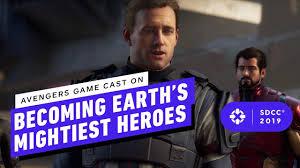 Avengers Video Game Cast Got Physical ...