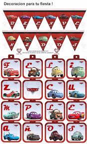 Kit Imprimible Cars 2 Disney Pixar Invitaciones Cumpleanos