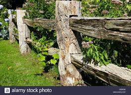 Rough Cut Fence Posts High Resolution Stock Photography And Images Alamy