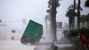 hurricane harvey makes landfall near