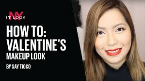 valentine s day makeup look by say tioco
