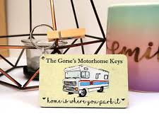 motorhome gifts in collectable keyrings