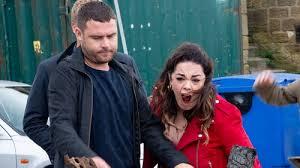 Aaron burns Mandy's money on Emmerdale