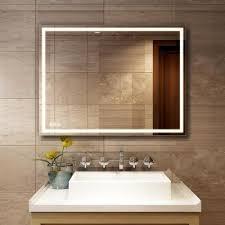 frameless led light vanity mirrors