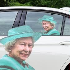 Ride With The Queen Car Decal Left Hand Walmart Com Walmart Com