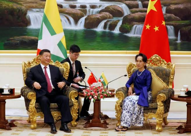"""Image result for china president and myanmar"""""""