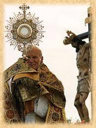 Resultado de imagen para Juan pablo II y adoracion