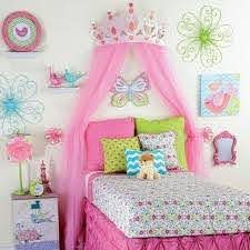 Girls Pink White Wood Princess Wall Plaque Kids Room Decor For Sale Online Ebay