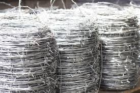 Zinc Coated Steel Barbed Wire Al Qahtani Nails Galvanized Wire Factory