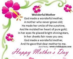 happy mother s day wonderful poem
