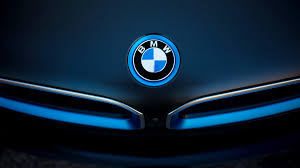 bmw i8 badge wallpaper hd car