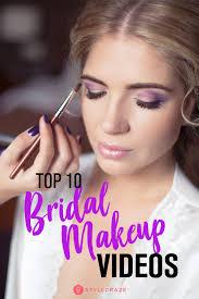 top 10 trending bridal makeup tutorial