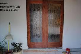 hang a door mirror on a solid wood door