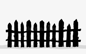 Picket Fence Silhouette Stock Illustrations 948 Picket Fence Silhouette Stock Illustrations Vectors Clipart Dreamstime