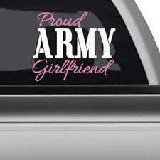 Oracal Greenstar Army Navy Marinies Proud Wife Mom Girlfriend Car Window Decal Military Duty