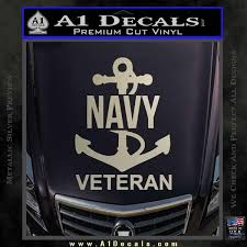 Us Navy Veteran Decal Sticker A1 Decals