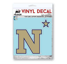 Us Naval Academy Primary Logo Car Decal Nudge Printing