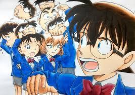 Bộ tranh đẹp mắt về các nhân vật trong thám tử Conan đẹp không kém bản gốc  của họa sĩ Nhật Bản