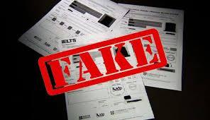 fake IELTS