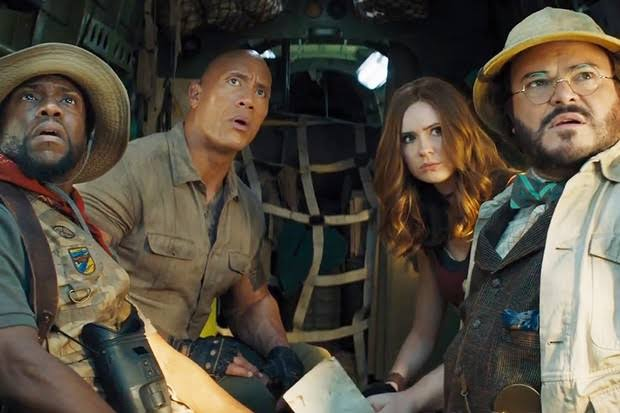 Image result for JUMANJI: THE NEXT LEVEL""