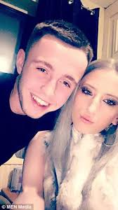 Trainee Bricklayer Is Left Scarred For Life After He Was Attacked On 21st Birthday Daily Mail Online
