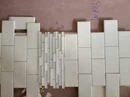 Size Of Glass Tile Border