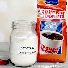 homemade powdered coffee creamer with