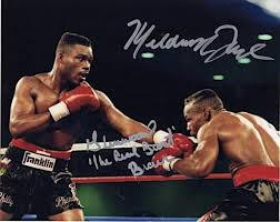 Taylor – Meldrick Taylor and Glenwood Brown Autographed Photo – Item  AUMTAYLOR2 – Heavy Weight Collectibles