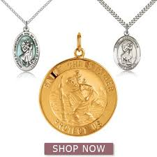 the meaning of st christopher medals