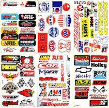 Amazon Com Motorsport Cars Hot Rod Nhra Drag Racing Lot 6 Vinyl Decals Stickers D6053 Arts Crafts Sewing